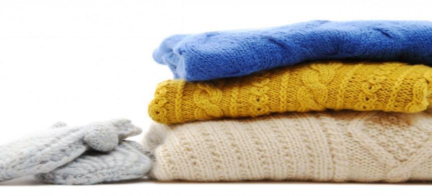Cách giặt áo len không bị chảy