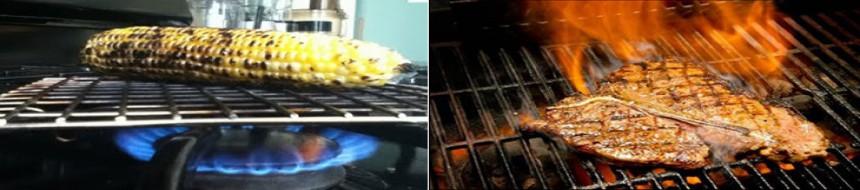 Có nên nướng thức ăn bằng bếp gas?