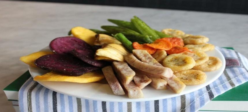 Sử dụng lò nướng bánh để làm rau củ quả sấy